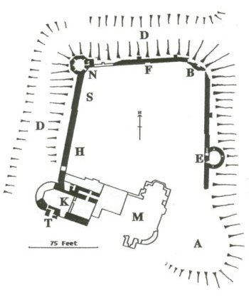 Wilton Castle map